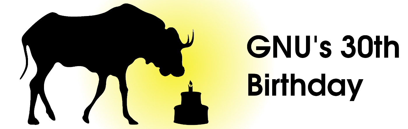 GNU 30th banner.png