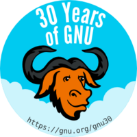 GNU 30th badge.png